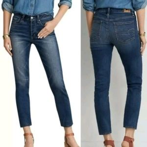 AEO   NWT Vintage Hi-Rise ankle jeans button fly